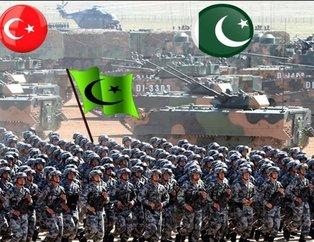 Yeri göğü inletiyorlar! İslam Ordusu Koalisyonuna katılan ülkeler! İşte İslam ordusunun gücü...