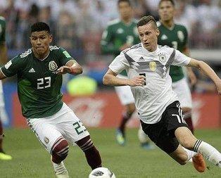 Almanya Meksikaya boyun eğdi!