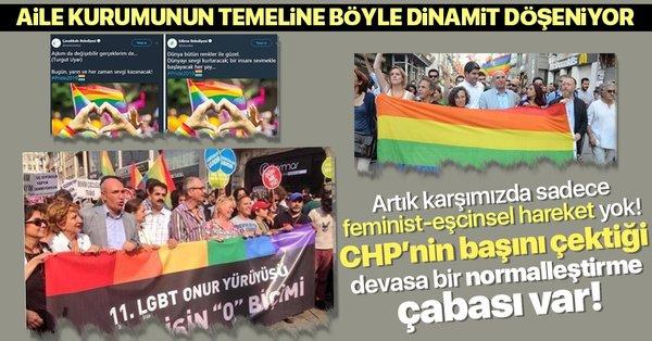 Feminizm ve eşcinsellik: Aile kurumunun temeline bu yöntemle dinamit  döşeniyor! - Takvim