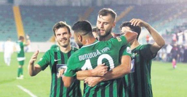 Akhisarspor Bursa'yı yıktı