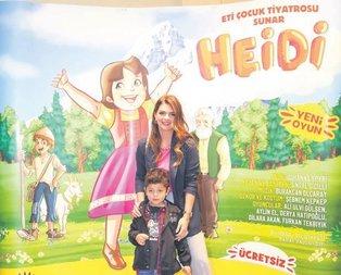Heidi'yi izledi