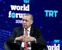 Erdoğan, TRT World Forumunun kapanışında konuştu