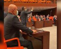 Meclis'in oylama sistemi eylemler nedeniyle bozuldu