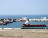 Barbaros Hayrettin Paşa gemisi Filyos Limanı'nda