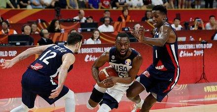 2019FIBA Dünya Kupası'nda büyük sürpriz! Fransa, ABD'yi 89-79 mağlup etti