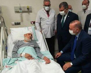 Başkan Recep Tayyip Erdoğan'ın ziyaret ettiği kanaat önderi Hafız Abdullah Nazırlı hayatını kaybetti