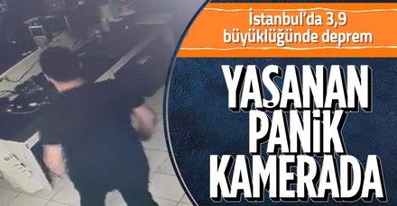 İstanbul depremi sonrası ilk görüntüler