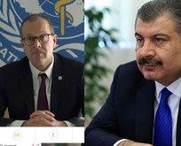 Bakan Koca, DSÖ Direktörü Kluge ile görüştü