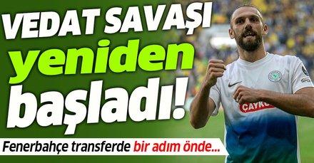 Vedat savaşı yeniden başladı! Fenerbahçe'ye daha iyi teklif sundu