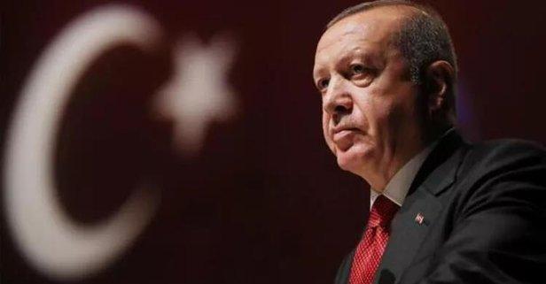 Başkan Erdoğan, şehit ailesine başsağlığı diledi