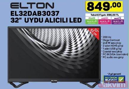 A101 18 Nisan Perşembe aktüel ürünler kataloğu satışta! 4K Smart TV dikkat çekiyor