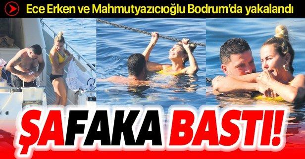 ECE Erken, yuvasını yıkmak ile suçlandığı Şafak Mahmutyazıcoğlu ile Bodrum'da yakalandı