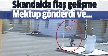 Türk bayrağını çalan Rum genç özür diledi, bayrak iade edilecek