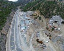 Türkiye'nin en uzun dünyanın 2. en uzun tüneli olacak!