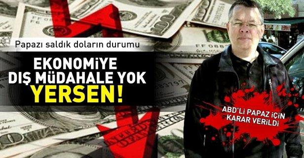 Türkiyede tutuklanan ABDli rahiple ilgili flaş karar!