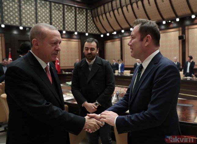 Başkan Erdoğan'dan Oktay Kaynarca'ya