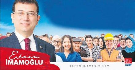 Ekrem İmamoğlu'nun posterindeki takke düştü bira göründü