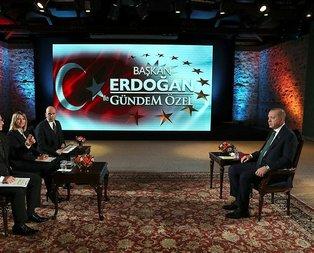 Başkan Erdoğan: Aşk ile koşan yorulmaz!