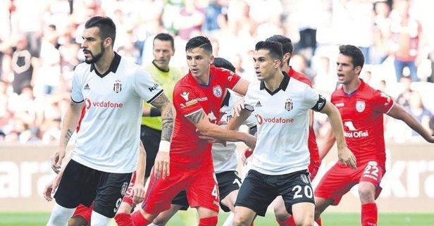 Beşiktaş'tan keyif veren prova