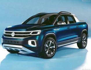 Volkswagen yeni pick-upı Taroku tanıttı! 2019 Volkswagen Tarok özellikleri