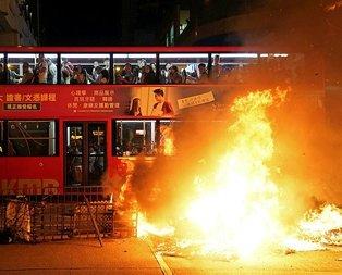 Hong Kong'da gerilim tırmanıyor!