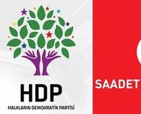 HDP'den Saadet Partisi'ne destek!