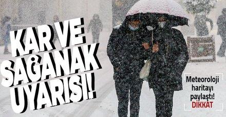 HAVA DURUMU | Meteorolojiden son dakika kar uyarısı!