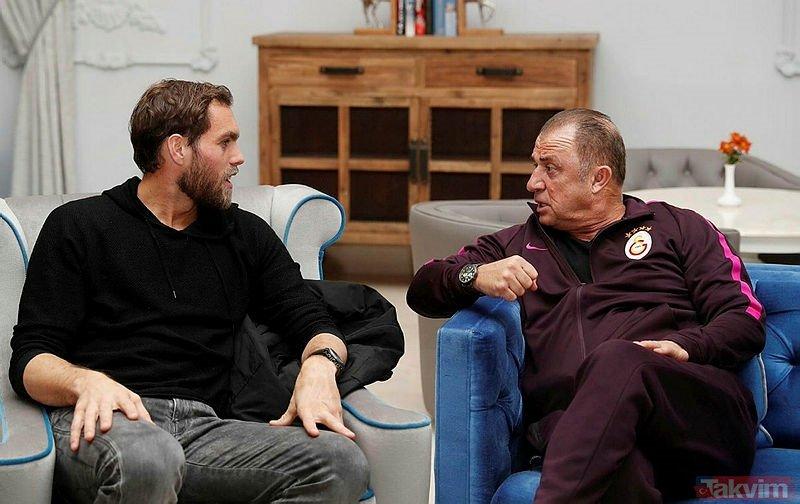 Elmander Galatasaray için Standard Liege'den Renaud Emond'u izledi