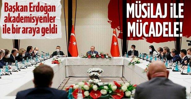 Başkan Erdoğan'dan müsilajla mücadele toplantısı!