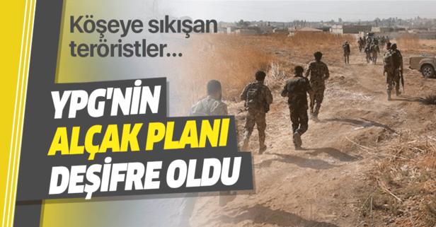 YPG'nin alçak planı deşifre oldu
