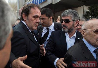 Erdoğan Demirören'in cenazesinde çok sayıda ünlü isim bir araya geldi
