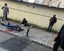 İstanbul'da kan donduran olay! Sokak ortasında dehşet