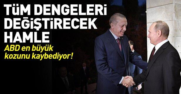 Türkiyeden tüm dengeleri değiştirecek hamle