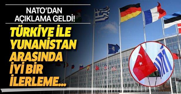 NATO'dan flaş Türkiye-Yunanistan açıklaması!