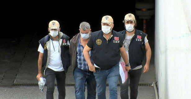 MİT'in yakaladığı PKK'lı adliyeye sevk edildi
