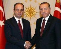 Erdoğan ile Merkez Bankası Başkanı Murat Çetinkaya ile görüştü