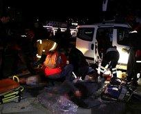 Adana'da feci kaza! Çok sayıda ölü ve yaralı var...