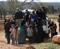 Afrin'den dev tahliye! TSK koridor açmıştı