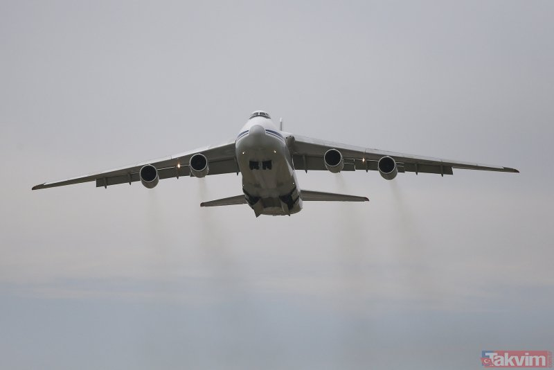 S-400'lerin sevkiyatı devam ediyor! 7. uçak da Mürted Hava Meydanı'na indi