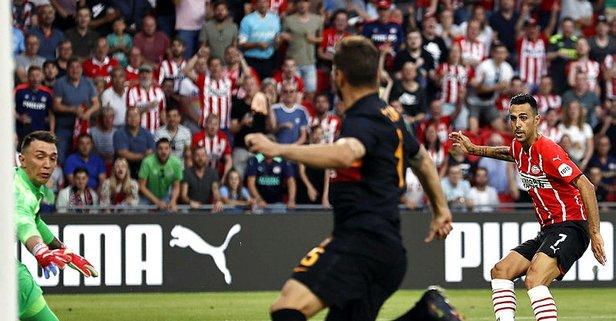 Galatasaray PSV maçı canlı anlatım izleme ekranı!