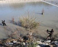 Antalya'da kayıp Buse'nin arandığı bölge sualtından görüntülendi