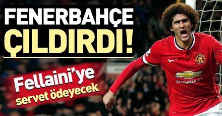 Fenerbahçe Fellaini transferinde sona yaklaştı!