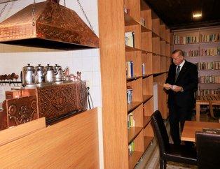 Cumhurbaşkanı Erdoğandan kıraathane ziyareti