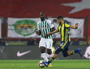 Kanarya'nın Elmas'ı Konya'da parladı! I Atiker Konyaspor: 0 - Fenerbahçe: 1 (MAÇ SONUCU)