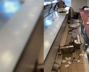 Fransa'da Türklere ait kasap dükkanına ırkçı saldırı!