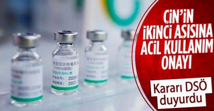 Sinopharm'ın aşısına acil kullanım onayı!