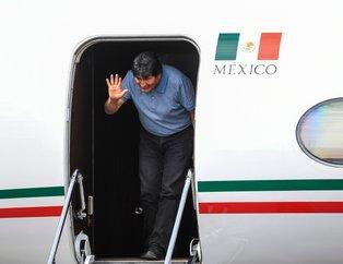 İstifa eden Bolivya Devlet Başkanı Evo Morales Meksika'da