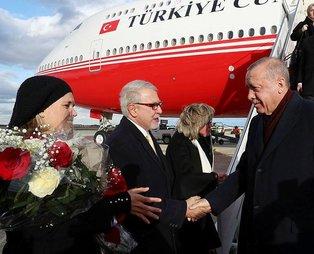 Başkan Recep Tayyip Erdoğan ABD'de