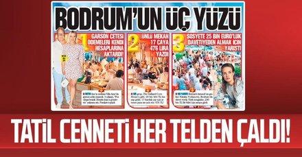 Türkiye'nin tatil cenneti her telden çaldı! Bodrum'un üç yüzü