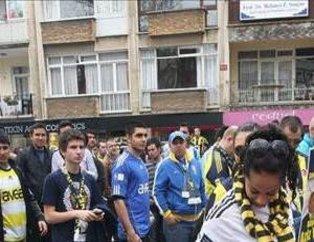 Fenerbahçe taraftarından 'şike' yürüyüşü